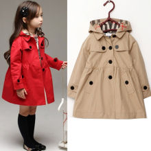 2016 Red Kahiki New Fashion baby winter long sleeve jacket children cotton clothes toddler girls warm coat kids outwear