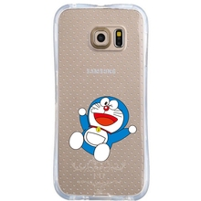 Cartoon Doraemon cell phone bags case cover for iphone 4S 5S 5C SE 6S 7 PLUS Samsung galaxy S3 S4 S5 S6 S7 NOTE IPOD Touch 4 5