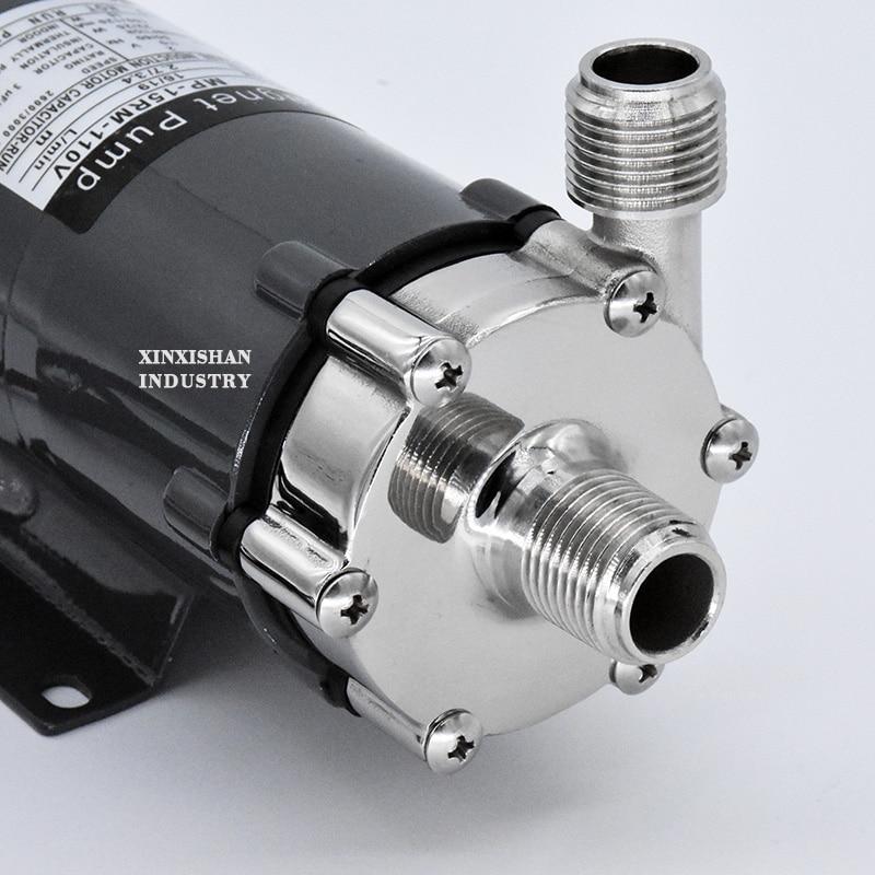 "110V 1//2/"" NPT Magnetic Drive Brewing Beer Pump Stainless Steel Beer Home Brew"