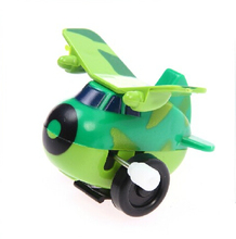 SST* Lovely toy wind up toys dump chain dumping Kids Gift Baby toy butterfly wings classic toys Green airplane model +(China)
