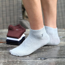 Brand Men's Socks Spring Summer 100% Cotton Boat Socks Man Casual Ankle Socks Male Fashion Low Socks 6pairs/lot