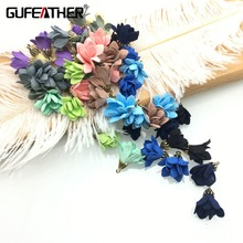 GUFEATHER/jewelry accessories/accessories parts/jewelry findings/embellishments/diy accessories/flowers 10pcs/bag