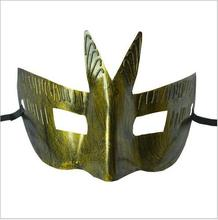2017 Halloween&Christmas fashion mask gold shining plated party mask wedding props masquerade mardi gras mask two colors Toys