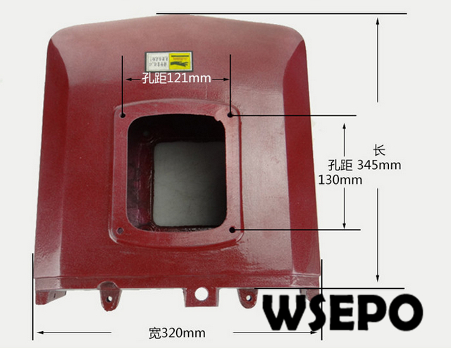 OEM Quality! Water Tank for ZS1110/ZS1115 4 Stroke Small Water Cooled Diesel Engine<br>