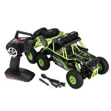 Buy New 2.4GHz Remote Control Six-Wheel Drive Car 1:10 RC Climbing Car Crawler Model Toy Rechargeable High-Speed Off-Road RC Car for $79.70 in AliExpress store