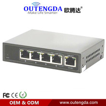 2015 Promotion Real Stock Full-duplex & Half-duplex Fast Switch Lacp Qos Poe Switch High Quality 10/100m Switch With 4 Port Poe(China)