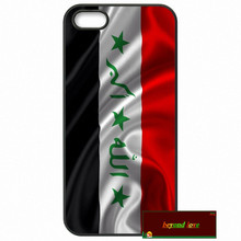 Iraq National Flag Phone Cases Cover For iPhone 4 4S 5 5S 5C SE 6 6S 7 Plus 4.7 5.5   #SE1754