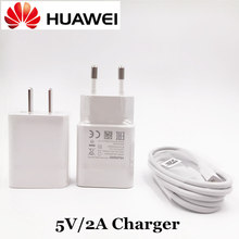 Original Huawei Charger For P8 Lite Max Honor Mate 7 8 Mobile Phone 5V/2A USB Travel Charge Adapter with Micro USB Data Cable