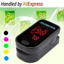 2017 Color LED Display Design oxymetre pulsioxmetro Fingertip Pulse Oximeter Spo2 PR monitor Blood Oxygen meter Monitor(China)