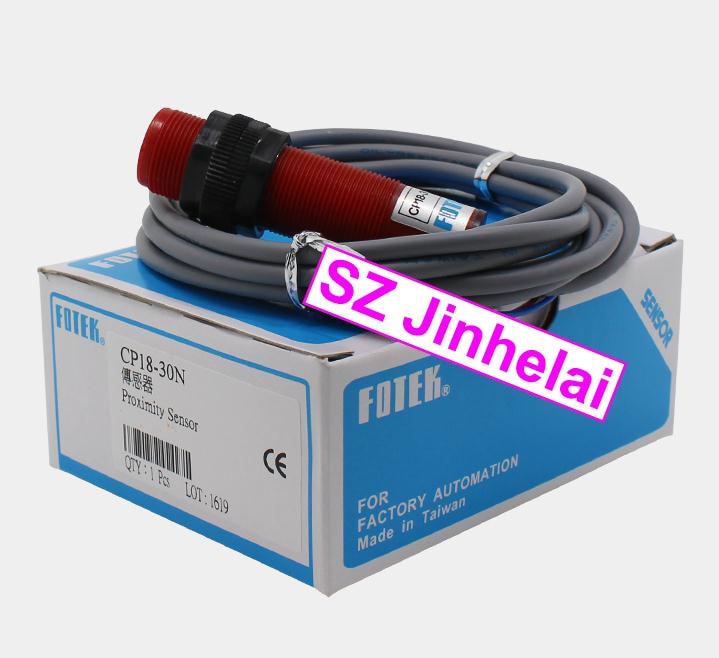 100% New and original FOTEK Proximity switch CP18-30N  10-30VDC<br>