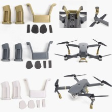 New Black/White/Gold Landing Gear Heightened Extender Landing Riser Kit For DJI Mavic Pro Quadcopter