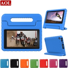 Children Kids Shockproof Thick Foam EVA Stand Handle Protective Cover Back Case For Amazon Kindle Fire HD7 2015 7 inch Tablet PC