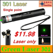[ReadStar]301 Red Green high power 1W laser pointer Laser pen single point Laser only without 18650 battery and charger