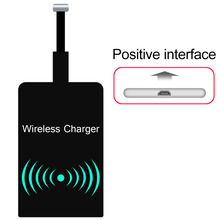Universa Positive Head Qi Wireless Charging Receiver Module Mat for Android Phones for Samsung For Other Android Phones(China)