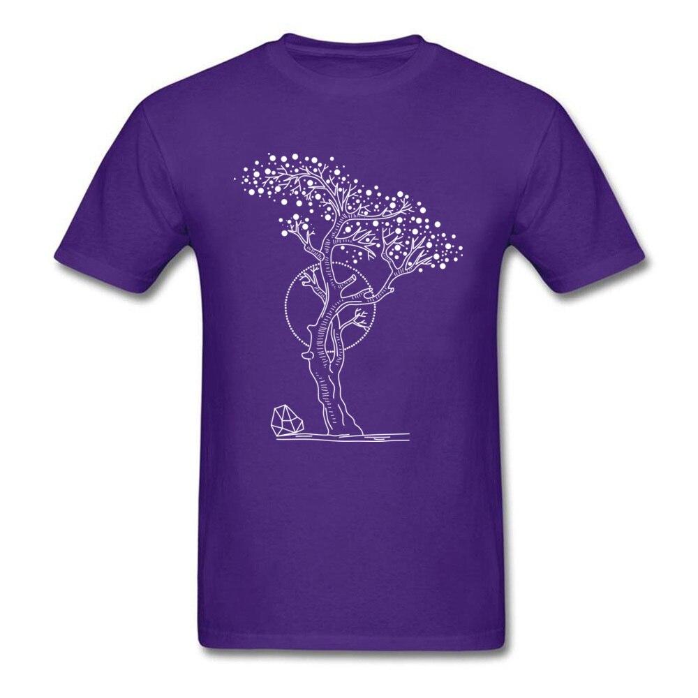 Pointilism Tree Life_purple