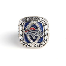 NFC 2013 Denver Broncos ring Super Bowl Replica Championship Ring broncos ring for collection free shipping factory direct sales(China)