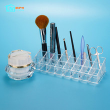 LIYIMENG Cosmetic Organizer Jewelry Casket Perfume Lipstick Storage Plastic Box Desktop Decoration Acrylic Container Organizers(China)