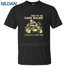 Cafe Racers Aged Look Biker 60's Rock & Roll Ace Sale ali shirt black man Graphic Printing Hipster ali shirt cotton plus size