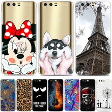 Huawei Honor 9 Case 5.15 inch Luxury Cartoon TPU Case Cover For Huawei Honor 9 Silicone Phone Protective Back Cover Skin