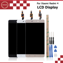 ocolor 5.0 inch For Xiaomi Redmi 4 Phone LCD Screen Display Touch Screen Digitizer LCD Free Tools For Xiaomi Redmi 4