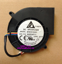 Original Delta 9733 large air flow blower fan BFB1012UH 12V 6A  4wires ~