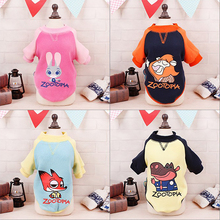 Cute Zootopia Dog Clothes 2017 Winter Warm Cartoon Dog Coat Jacket Soft Fleece Puppy Pet Clothing Hoodie For Chihuahua Yorkie(China)