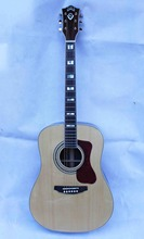 OEM custom guitar,  Dreadnought Acoustic Guitar,Free Shipping