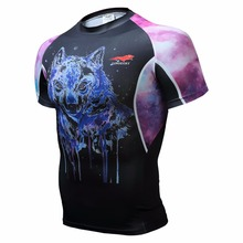 latest design cycling jerseys brand original bike jerseys design bikeing Wolf man short sleeve T-shirt products high quality Fre