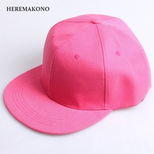 Spring Pure Color Cotton Cap Baseball Cap Flat edge Hat Summer Cap Hip Hop Fitted Cap Hats For Men Women Multicolor Casual hats(China)