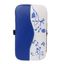 7Pcs/set Blue and White Porcelain Case Professional Manicure Nail Cleaner Tool(China)