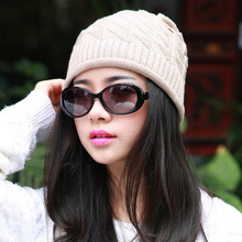 Women Fall Fashion Hats Twist Pattern Beanies Winter Gorros for Female Knitted Warm Skullies Touca Chapeu Feminino