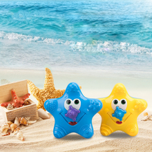 New Baby Kids Bathroom Funny Water Starfish Electronic Bath Toys Summer water toys Fountain With Box PT100