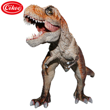 Jurassic Dinosaur Model Toy Plastic Animal Simulation Tyrannosaurus Action Figure Toys Kids Gifts(China)