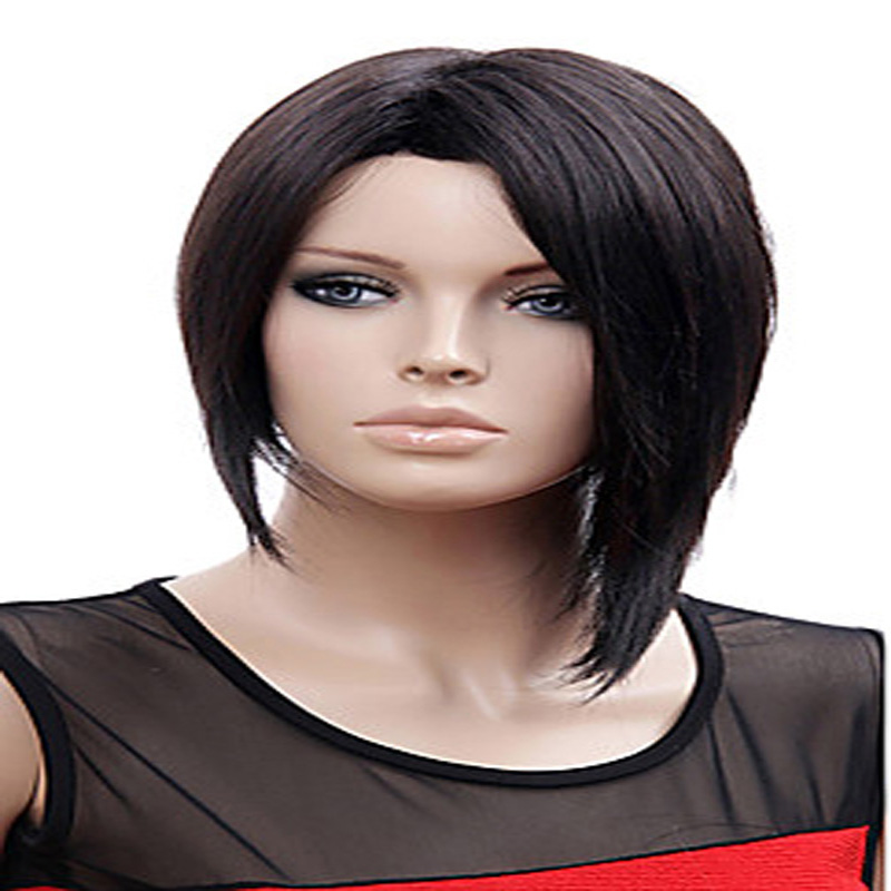 HAIRJOY Rihanna Style Short  Straight  Hair Wig  Synthetic Wigs New Arrival  2 Colors Available<br><br>Aliexpress