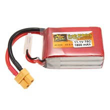 Best Deal High Quality Rechargeable Lipo Battery ZOP Power 11.1V 1800mAh 75C 3S Lipo Battery XT60 Plug For RC Model