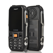 Power Bank Mobile Phone Dustproof Shockproof live proof Cell Phones FM radio long standby shockproof rugged cell mobile phone(China)
