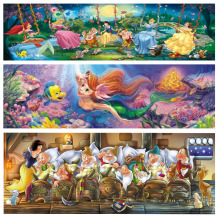 Fairy tale, diamond painting, cross needle, mermaid, 5D, DIY, gift, sewing, embroidery, diamond square, interior decoration(China)