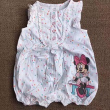 Infant Toddler Baby girl's Formal Wear Tuxedo Rompers minnie mouse baby Sleeveless clothes