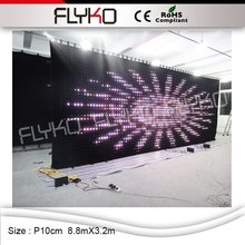 P100mm CE ROHS buy cheap video backstage used hight bright stage curtains for sale(China)