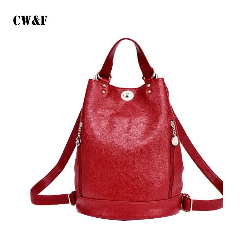 New shoulder bag female college wind bucket type<br>