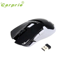 CARPRIE 2.4Ghz Mini portable Wireless Optical Gaming Mouse For PC Laptop BK Mar7 MotherLander