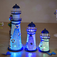 House Home Ornament Furnishing Maritime Crafts Beacon Decoration Lighthouse(China)