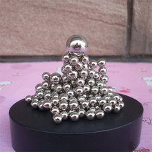 DIY Magnetic Base Metal Balls Children's educational toys Home Decoration Accessories Metal Craft balls Sculpture Figurines gift(China)