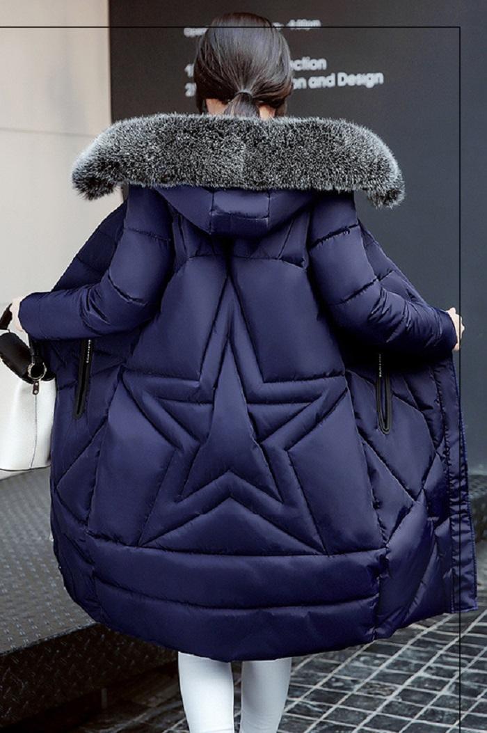 2017 Winter Women Coat Thicken Warm Long Jacket women coat girls long slim big coat jacket Down Parka+24 (1)