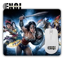 Hot models wonder woman Background pattern custom made Mice Mats Speed Skid Mini Computer Rectangular Mouse Mat Mices Pads