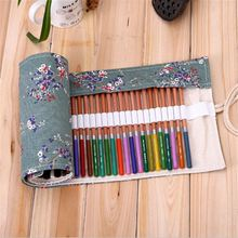 3 Size Rolling Pen Case Pencil Box Bag Novelty Vintage Makeup Storage Cosmetic Promotional Gift Stationery(China)