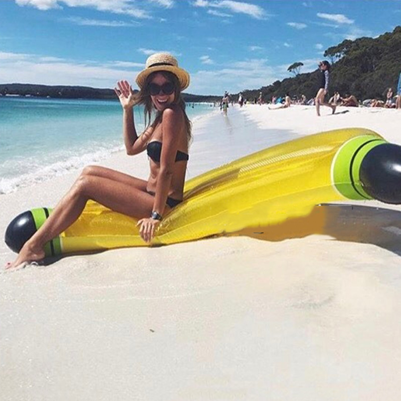 180cm-Banana-Float-Giant-Inflatable-Pool-Mattress-Air-Bag-Pontoon-Swimming-Party-Toy-Para-Adult-Marine