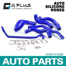 Silicone Radiator Heater Hose Fit For FOR 05-10 FORD MUSTANG GT/SHELBY V8  BLUE