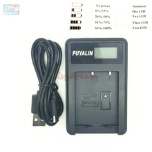 NP-W126 NP W126 NPW126 LCD Battery Charger + USB Cable for Fujifilm Fuji X-A1 X-E1 XE1 X-E2 X-M1 X-T1 X-T10 XT10 X-Pro1 Camera