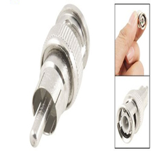 MYLB-2 Pcs BNC Male to RCA Male RF Coaxial Connector Adapter for CCTV(China)